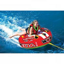 1 Person Ace Racing Tube Towable Water Tubing Inflatable Poo