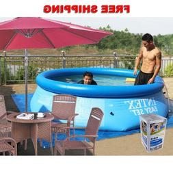 Summer Easy Set Inflatable Swimming Pool Round Above Ground