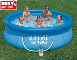 10 x 30 family inflatable round backyard