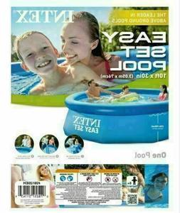 Intex 10 x 30 Inflatable Pool Easy Set Above Ground NO PUMP