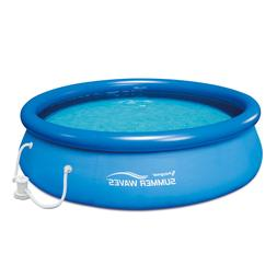 """Summer Waves 10'x30"""" Quick Set Inflatable Above Ground Pool,"""