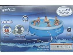 Bestway 10ft X 30in Fast Set Pool With Filter  Swimming pool