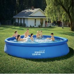Summer Waves 15ft x 36in Quick Set Inflatable Above Ground P