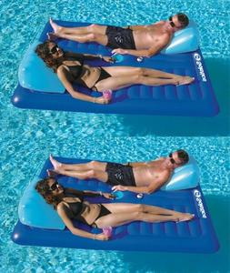 2) New Swimline 16141SF Swimming Pool Inflatable Durable 2 P