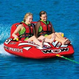 2 Person Coupe Cockpit Towable Water Tubing Inflatable Pool