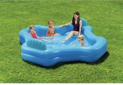 Intex 2-Seat Cool Swim Center Family Lounge Inflatable Pool
