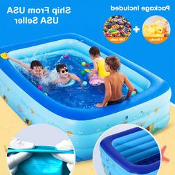20%OFF Inflatable Swimming Pool Home Outdoor Adult Family Ki