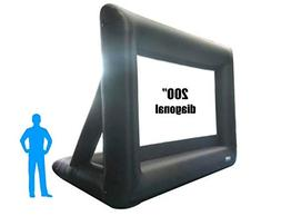 LOCH 200 diagonal 169 Inflatable Projection Screen Outdoor M