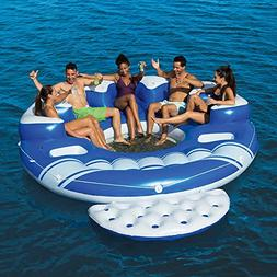 NEW 2017 Bestway Cooler Z Blue Caribbean Floating Island Inf