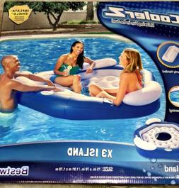 BESTWAY 3 PERSON INFLATABLE FLOATING ISLAND SWIMMING POOL LA