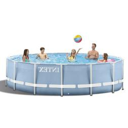 Intex 305*76cm Easy Set Up Inflatable Round Frame Above Grou