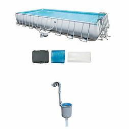 Bestway 31.3ft x 16ft x 52in Above Ground Pool Set with Pump