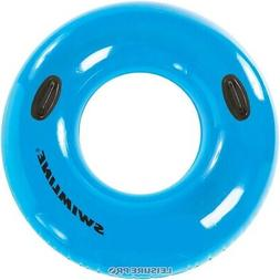 "Swim Central 36"" Water Sports Inflatable Blue Pool Inner Tub"