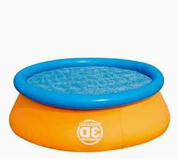 Splash & Play 3D Adventure 7' Fast Set Family Pool
