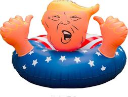 "47"" Donald Trump Float Fun Inflatable Swimming Floats For Po"