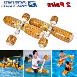 4Pcs Water Float Sports Inflatable Game Swimming Pool Float
