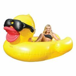 Game 5000 Giant Derby Duck Inflatable Float Pool Rafts & Inf