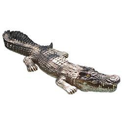 Poolmaster 30-Inch Floating Crocodile Decoy for Pool, Pond,