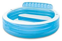 Intex 57190ep Inflatable 88inchL x 85inchW x 30inchH Family
