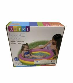 Intex 58924EP 34in x 10in Sunset Glow Soft Inflatable Baby S