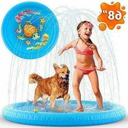 Inflatable Kids, Swimming Pool, Outdoor Games Water Carpet