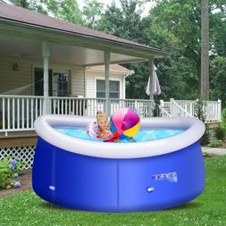 8 ft x 30 inch Easy-Set Giant Inflatable above Ground Swimmi