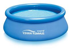 """Summer Waves 8'x30"""" Quick Set Ring Pool with RP350 Filter Pu"""