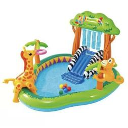 """Intex 85"""" X 74"""" X 49"""" Jungle Play Center Inflatable Pool wit"""