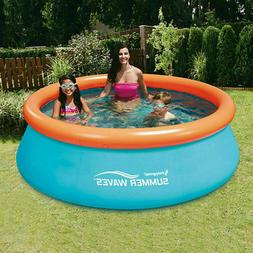 Summer Waves 8ft x 30in Small Kiddie Inflatable Kids Above G