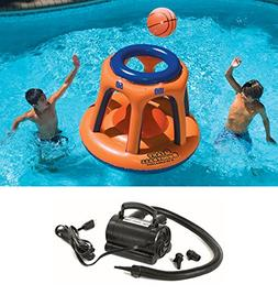 Swimline 90285 Basketball Hoop Shootball Inflatable Pool Toy