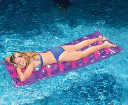 Swimline 9035 72 in Inflatable 18 Pocket Mattress Swimming P