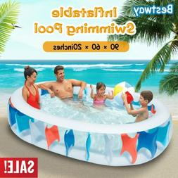 906020 inflatable swimming pool water play fun