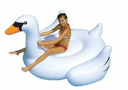 Swimline Giant Inflatable Swan Pool Float