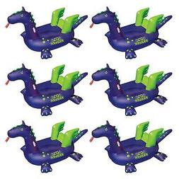 Swimline 90625 Pool Kids Giant Rideable Sea Dragon Inflatabl