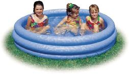 "Intex FBA_58446EP Crystal Blue Kids Outdoor Inflatable 66"" x"