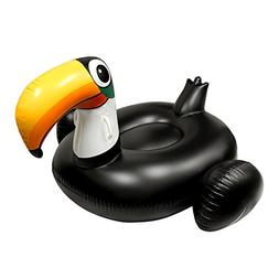 Pool Accessories For Kid Giant Black Inflatable Toucan Pool