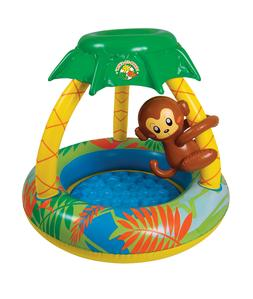 Poolmaster 81610 Learn-to-Swim Go Bananas Monkey Pool