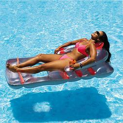 Swimline Deluxe Lounge Chair Colors May Vary