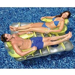 Swimline Face to Face Double Inflatable Pool Float