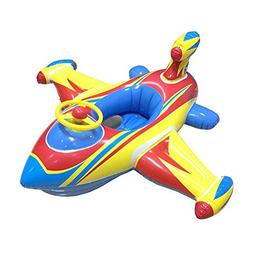 Topwon Inflatable Airplane Baby Kids Toddler Infant Swimming