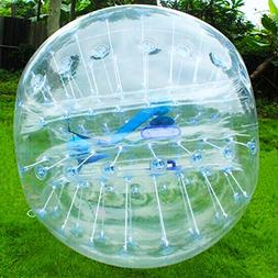 Transparent Body Zorb Ball Bumper Inflatable Human Ball Socc