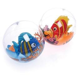 U.S. Toy 12-Pack Assorted Inflatable Tropical Fish in Balls