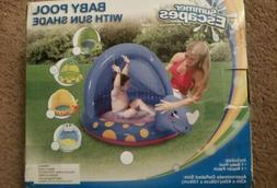 Alligator Baby Splash Pool With Sun Shade   By Summer Escape