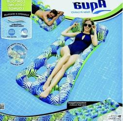 Aqua Inflatable Contour Cooling Water Lounge Swimming Pool F
