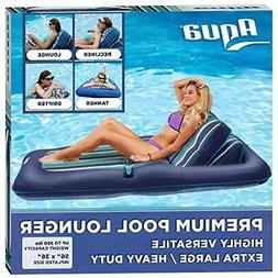 Aqua Premium Convertible Pool Lounger X-large inflatable poo