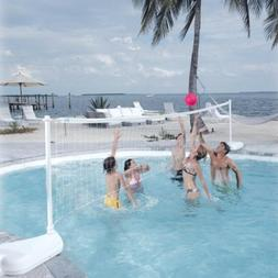 Dunn Rite Aqua Volly Portable Pool Volleyball Set