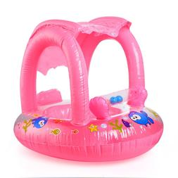 Baby <font><b>Inflatable</b></font> Float Swim Seat With Sun