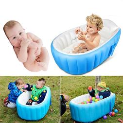 Baby Inflatable Bathtub Children Swimming Pool Foldable Air