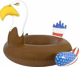 Bald Eagle Inflatable Pool Floats For Pools Lakes River Beac