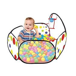 FarJing Infant Kids Ball Pit Playpen Tent Safety Fence with